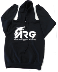 ARG Black Hooded Sweatshirt on Channel Fireball
