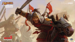 Grand Prix Nashville 2014 Rush of Battle Magic the Gathering Playmat