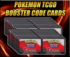 36 Count Lot of Pokemon Online unused Digital Booster Pack Codes (1 Booster Box)