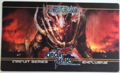 ARGCS Falltgold, The Dragoon // Bahamut, The Dragon King Playmat on Channel Fireball