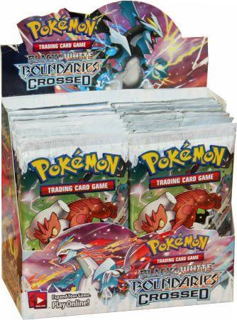 Black and White: Boundaries Crossed Sealed Booster Box