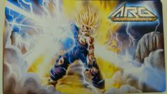 ARG Gohan Playmat DBZ on Channel Fireball