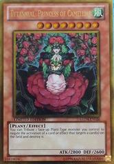 Tytannial, Princess of Camellias - GLD4-EN026 - Gold Rare - Limited Edition on Channel Fireball