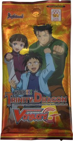 G CHARACTER BOOSTER - WE ARE!!! TRINITY DRAGON - Booster Pack