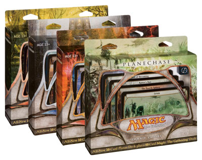 Planechase 2009 Game Pack -- Set of Four