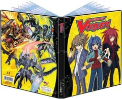 Ultra Pro Cardfight Vanguard Card Supplies Full View 4-Pocket Binder on Channel Fireball