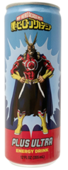 My Hero Academia Plus Ultra Energy Drinks (12 oz)