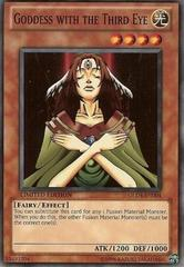 Goddess with the Third Eye - GLD4-EN004 - Common - Limited Edition on Channel Fireball