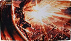 Dragon's Maze Gleam of Battle Playmat on Channel Fireball
