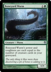 Boneyard Wurm on Channel Fireball