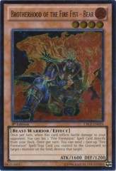 Brotherhood of the Fire Fist - Bear - CBLZ-EN024 - Ultimate Rare - 1st Edition on Channel Fireball