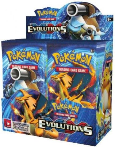 XY Evolutions - Booster Box