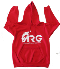 ARG Red Hooded Sweatshirt on Channel Fireball
