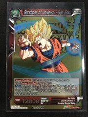 Backbone of Universe 7 Son Goku (Event Pack Metallic Foil) on Channel Fireball