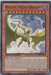 Malefic Truth Dragon - CT09-EN016 - Super Rare - Limited Edition