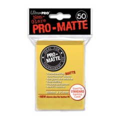 Deck Protector Pro Matte Yellow (50) on Channel Fireball