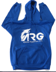 ARG Royal Blue Hooded Sweatshirt on Channel Fireball