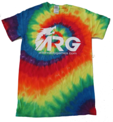 ARG Dyenomite Tie Dye Spiral T-Shirt on Channel Fireball