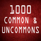 1000 Common/Uncommon  (English)