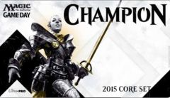 Magic 2015 Game Day Champion Play Mat Magic the Gathering
