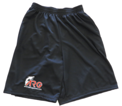 ARG Longer Length Wicking Shorts w/ Pockets on Channel Fireball