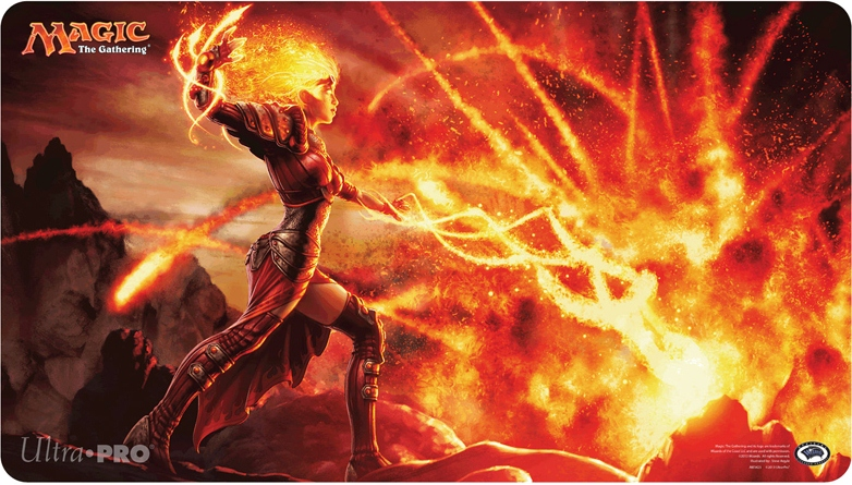 Flames of the Firebrand Playmat