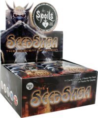 Seed Saga: The Descent of Gideon Booster Box (Black Friday)