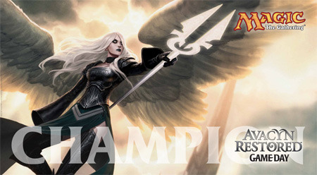 Avacyn Restored Game Day Champion Play Mat Magic the