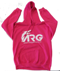 ARG Pink Hooded Sweatshirt on Channel Fireball
