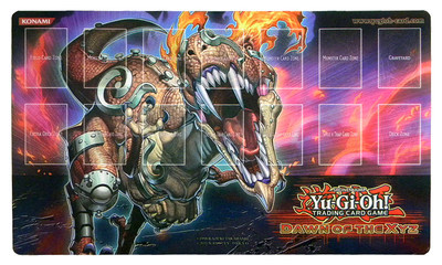Grenosaurus Starter Deck Dawn Of The Xyz Playmat Yu Gi