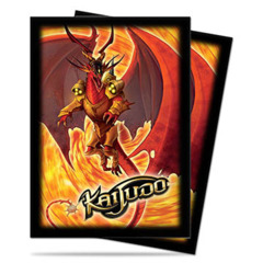 Infernus Standard Deck Protectors for Kaijudo 50ct on Channel Fireball