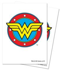 Wonder Woman Logo Sleeves on Channel Fireball