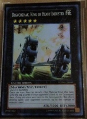 Digvorzhak, King of Heavy Industry Super Rare YCSW-EN005