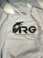 ARG Gray Hooded Sweatshirt on Channel Fireball