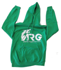 ARG Irish Green Hooded Sweatshirt on Channel Fireball