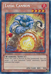 Laval Cannon - HA06-EN003 - Secret Rare - 1st Edition