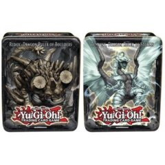 2013 Wave 2 Collector Tins Set of 2 Tempest, Dragon Ruler of Storms Tin & Redox, Dragon Ruler of Boulders