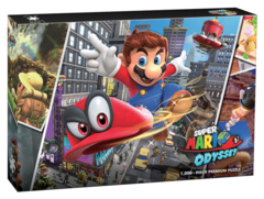 "Super Mario™ Odyssey ""Snapshots"" 1000 Piece Premium Puzzle on Channel Fireball"