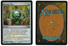 Chrome Mox - Foil (1) - Mirrodin - Signed by artist Donato Giancola