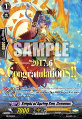 Knight of Spring Sun, Conanus - PR/0341EN - Hot Stamp