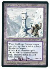 Kjeldoran Outpost - Alliances - Signed by artist Jeff Menges