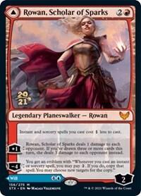 Rowan, Scholar of Sparks // Will, Scholar of Frost - STX Prerelease - Foil