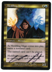 Meddling Mage (2) - Planeshift - Signed by Chris Pikula