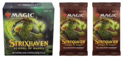 Strixhaven: School of Mages - Witherbloom Prerelease Pack plus 2 Draft Boosters