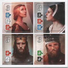 Splendor Board Game Promo Noble Tiles