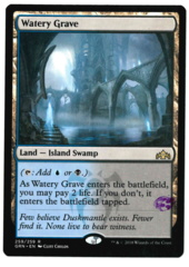 Watery Grave - Guilds of Ravnica - STAMPED