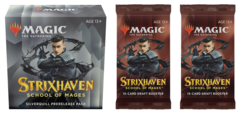 Strixhaven: School of Mages - Silverquill Prerelease Pack plus 2 Draft Boosters