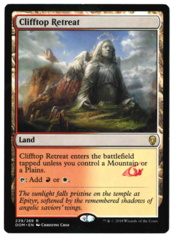 Clifftop Retreat - Dominaria - STAMPED