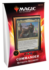 Ikoria: Lair of Behemoths Commander Deck - Ruthless Regiment