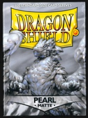 Dragon Shield Sleeves - Matte - Standard Size - Pearl - 100 count (GEN CON Exclusive)